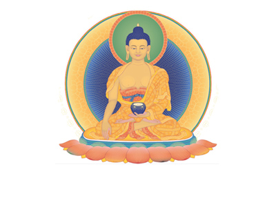Buddha Shakyamuni - Scottish Dharma Celebration 2019